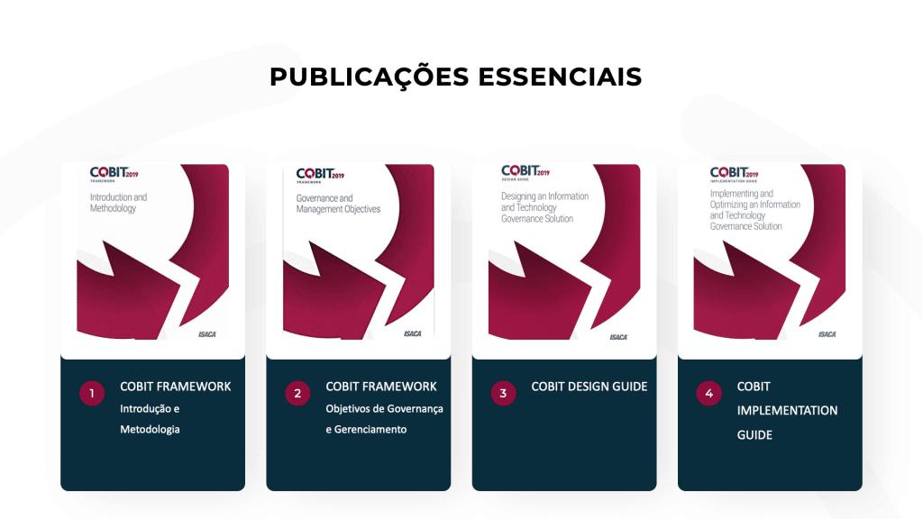 Publicações essenciais do COBIT 2019
